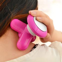 mini massager for body useing mushroom massager