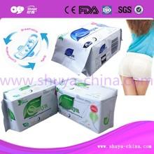 high absorbency active oxygen sanitary napkin