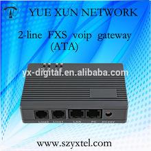 2 line FXS GOIP gateway,call terminal gsm voip gateway sip voip provider