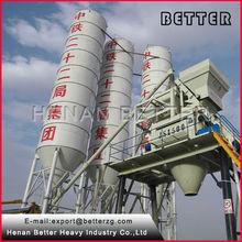 HZS75 loading concrete mixer plant
