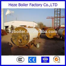 Small steam capacity 1ton horizontal gas fired boiler