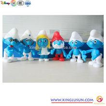 3D Promotion Cartoon Movie Plastic Figurines