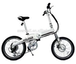 Ce approved mini electric folding bike