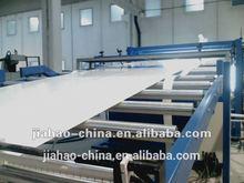 PVC sheet extrusion line, plastic extruder machine