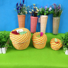 High Quality Durable Environmental Protection Paper Wicker Basket