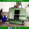 China manufactured factory price rubber belt leading type shot blasting machine / shot peening machine