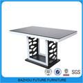 De madera y cristal superior alta calidad mesa de comedor de fabricantes de muebles chinos