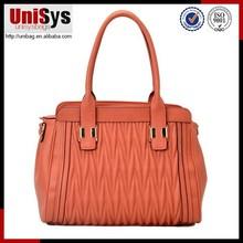 Original design hot sale style brand new fold design tote ladies handbag