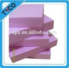 China styrofoam product flexible rigid xps packaging foam board construction thermal insulation board