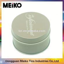 custom printed round tin box on sale