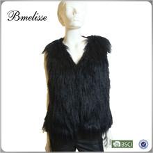 2014 2015 woman rabbit fur vest look like