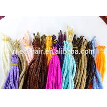 synthetic fiber hair extension dread lock wholesale