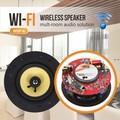 6.5 pulgadas wifi inalámbrica en el altavoz de techo