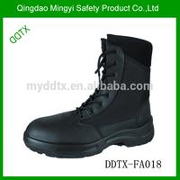 2015 best sale waterproof used military boot