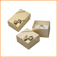 Dazzling paper presentation box for finger ring