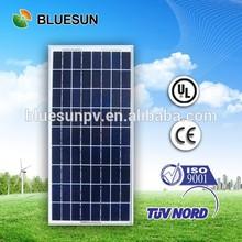 Alibaba top seller Bluesun customized size poly 25w solar panel