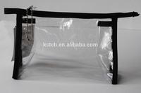 small transparent plastic bags,clear plastic zipper cosmetic bags,pvc mini cosmetic bagKST-CB5305