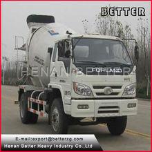 henan meglio di camion betoniera con pompa