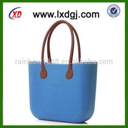 2014 CHINA manufacture fashion designer silicone shopping bag/handbag for lady shopping