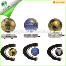 shenzhen wholesale fancy gift colorful magnetic levitation floating globe