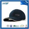 custom promotional cotton embroidery 6 panel baseball cap