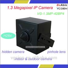 mini hidden ip camera 2 way audio,P2P function/onvif2.0