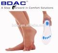 Experts silicium orthopédique de soin de pied avec support, coussin de chaussure, silicium semelle intérieure orthopédique SynFit