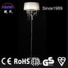 home decoration floor lamp modern black shade (NS-122012)