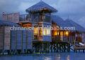 Telhado de palha materiais/projeto de construção de material de construção/artificial telhados de palha
