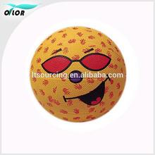 Novelty competetion rubber cartoon best basketballs