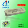 alta pf tuv ul sa código de corriente constante fuente de alimentación adaptador 50w proyector del conductor del led regulador