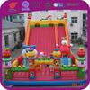 Large amusement park equipment, Christmas trampoline slide park