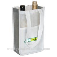 promotion nonwoven drawstring shopping wine bag(TW-PB060)