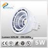 Led scope mounted spotlight 5w 12v 72degree cob