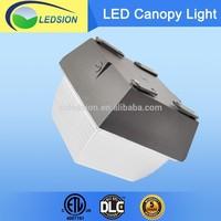 Gas Station Lighting Fixture Retrofit 80W LED Canopy Light, IP65 Waterproof 80W LED Canopy Light
