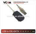 Vcom 2.0 usb a sata/adaptador ide cable + adaptador de corriente