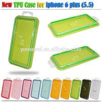 Mix color TPU Bumper phone case, for iphone 6 tpu bumper case