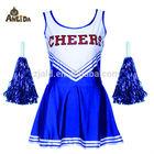 Classic women's multi-color cheerleader costume