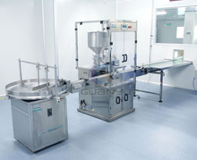 filling and capping machine from shampoo