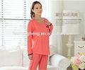 Por encargo respetuoso del medio ambiente pijamas de maternidad de canadá AK014