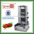 china a largo garantía de gas asador de pollos de la máquina