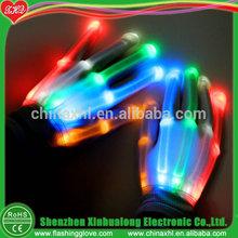 Gifts & crafts led glove led rainbow glove flashing gloves