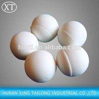 inert alumina ceramic balls(17%-99% AL2O3) as catalyst bed support media,tower packing,reactor covering material