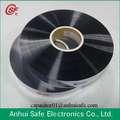 2.8um 3um 4um 5um 6um 7um 8um chaude légerfonction hydrographiques film métallisé pour l'utilisation de condensateurs