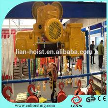 10 ton electric wire rope hoist,new condition electric hoist crane