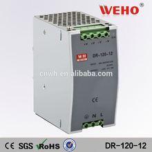 Hot Sell!! 120W single output DIN Rail 120w 5v 12v 24v power supply