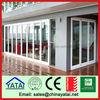 Wholesale china factory aluminum alloy balcony double sliding screen doors