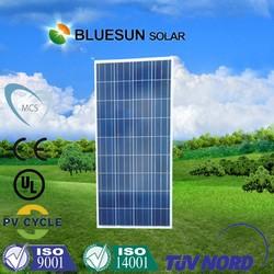 Bluesun JA cell polycrystalline 100 watt 12v solar panel