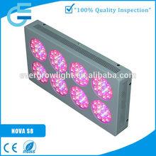Full spectrum hidropônico crescer NOVA S8 300 w vidro comercial o plantio de efeito estufa cebolinha