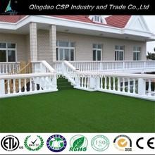Green decorative artificial grass for yard, artificial lawn grass for home garden